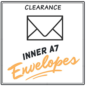 Clearance Inner A7 Envelopes