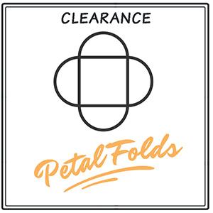 Clearance Petal Folds