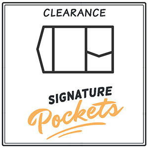 Clearance A7 Signature Pocket Invitations