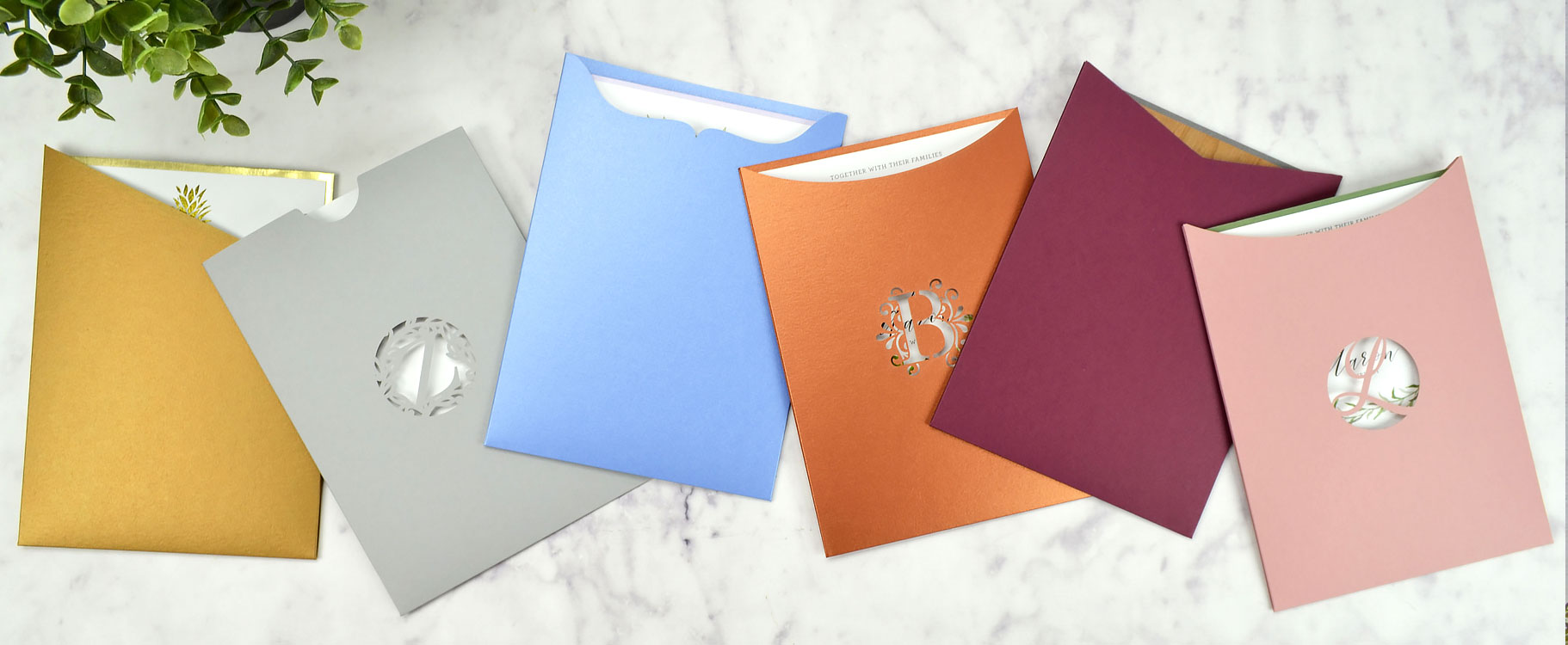 Pocket Invitation Sleeves