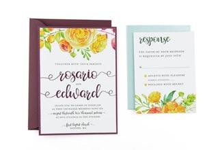 Cards And Pockets Free Wedding Invitation Templates